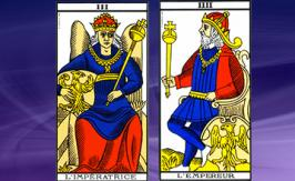 The Emperor and Empress cards: positive or negative ones?